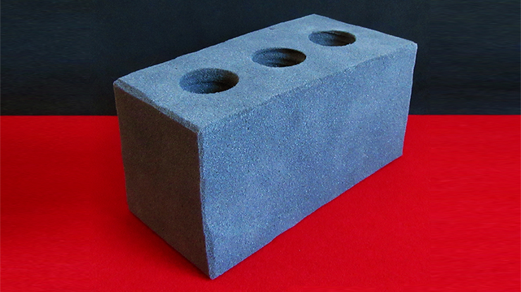 Sponge Cement Brick by Alexander May
