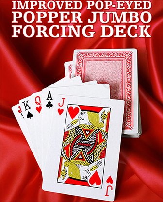 Improved Pop-Eyed Popper Jumbo Forcing Deck (Red)