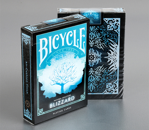 "Bicycle Natural Disasters ""Blizzard"" Playing Cards by Collectable Playing Cards"