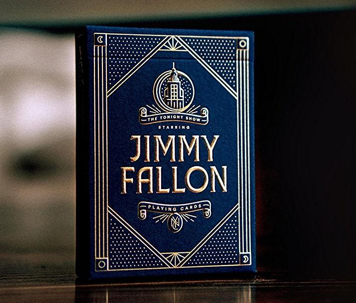 The Tonight Show Starring Jimmy Fallon Playing Cards by Theory11