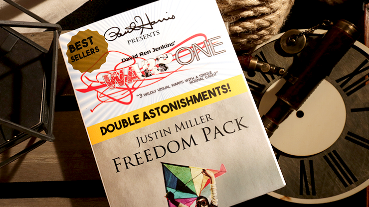 Paul Harris Presents Warp One/Freedom Pack Double Astonishments by Justin Miller & David Jenkins*