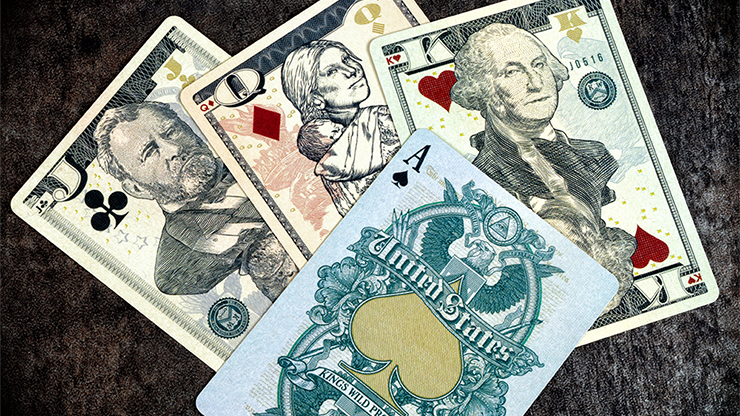 Legal Tender (US Version) Playing Cards by King`s Wild