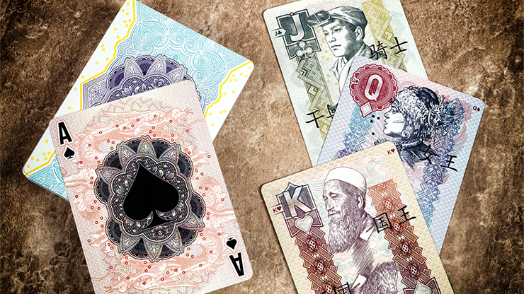 Legal Tender (Chinese Version) Playing Cards by King`s Wild