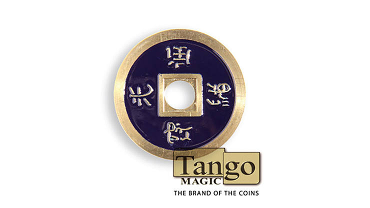 Dollar Size Chinese Coin (Purple) by Tango