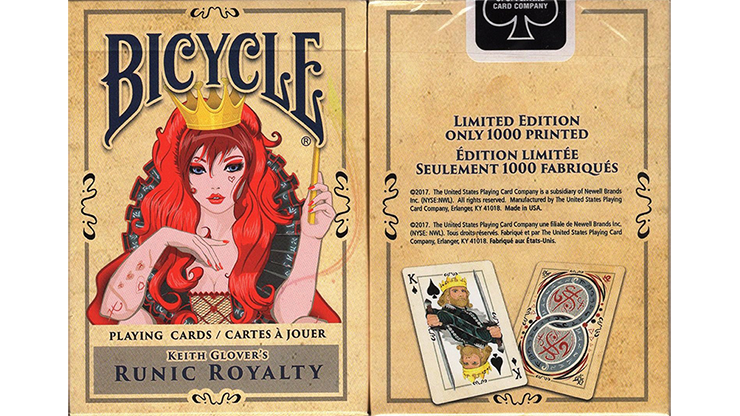 Runic-Royalty-Bicycle-Playing-Cards*