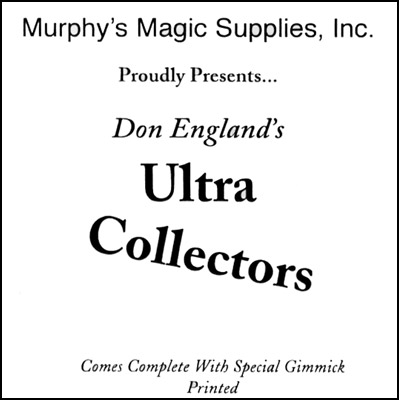 Don England`s Ultra Collectors*