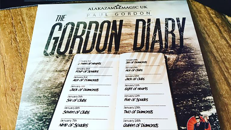 The Gordon Diary Trick Lite by Paul Gordon