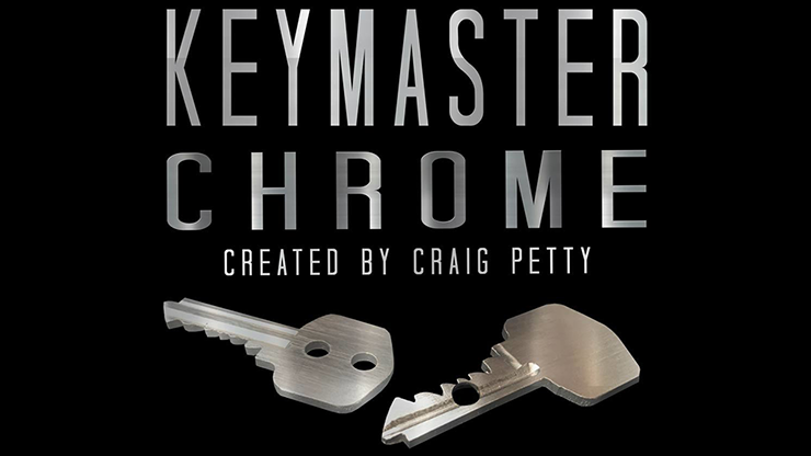Keymaster Chrome by Craig Petty