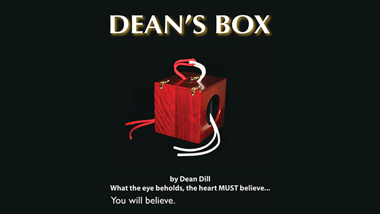 Dean`s Box 2.0 (Box, Props, and Bag) by Dean Dill
