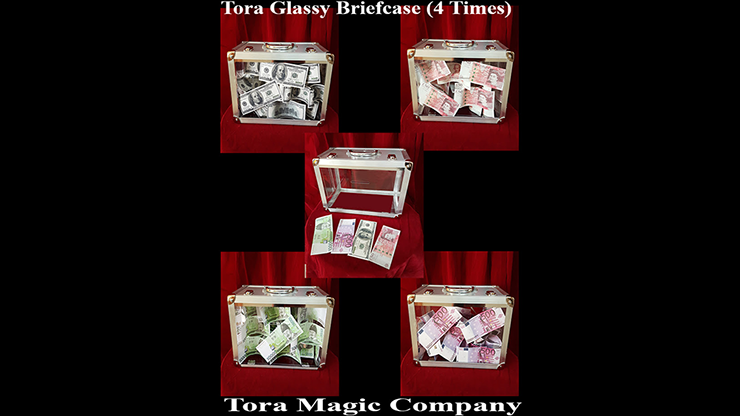 Glassy Briefcase (4 Times) by Tora Magic