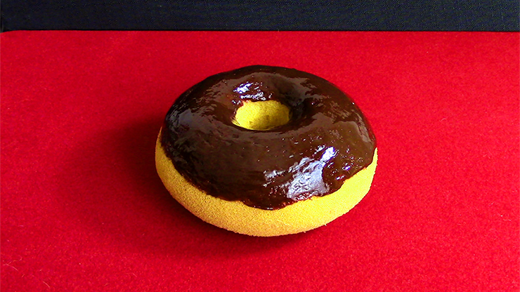Sponge Chocolate Doughnut by Alexander May