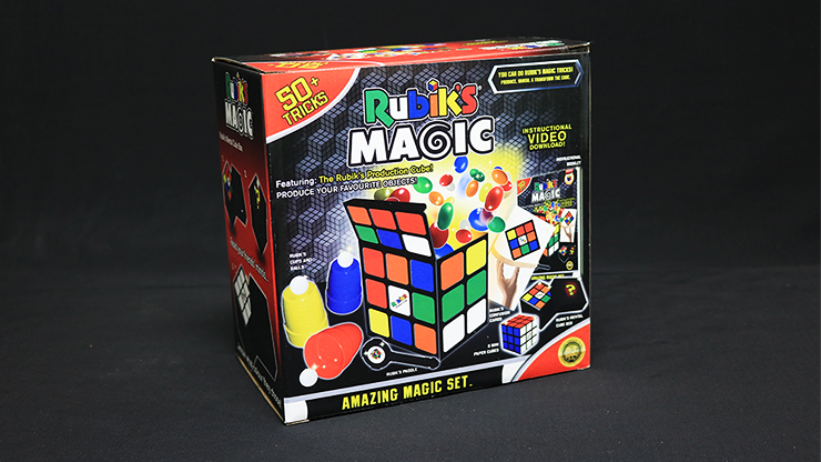 Rubik`s Cube Amazing Magic Set (With 50 Tricks) by Fantasma Magic