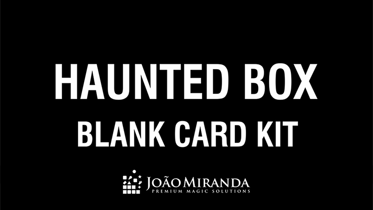 Blank Card Kit for Haunted Box by Joao Miranda