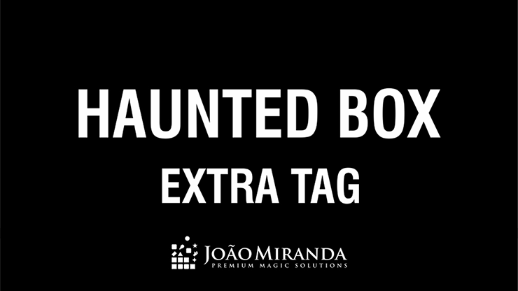 Extra Tag for Haunted Box by Joao Miranda