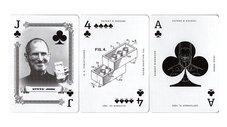 Limited-Edition-Art-of-the-Patent-Famous-Playing-Cards