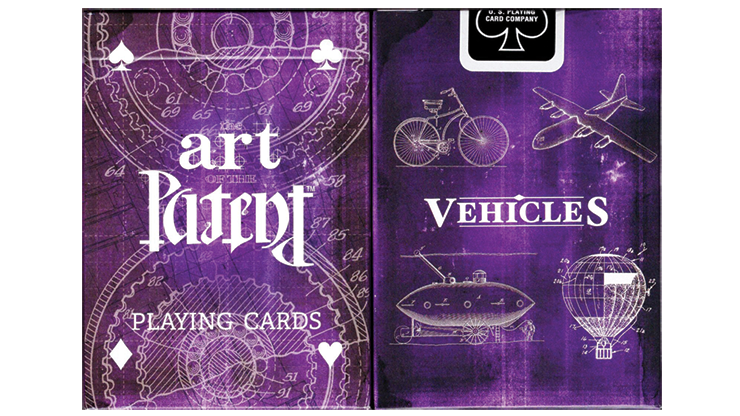Limited-Edition-Art-of-the-Patent-Vehicle-Playing-Cards