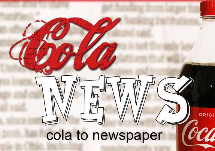 Cola News - Cola in Newspaper