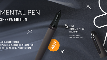 Mental Pen Sherpa Limited Edition by Joao Miranda and Gustavo Sereno