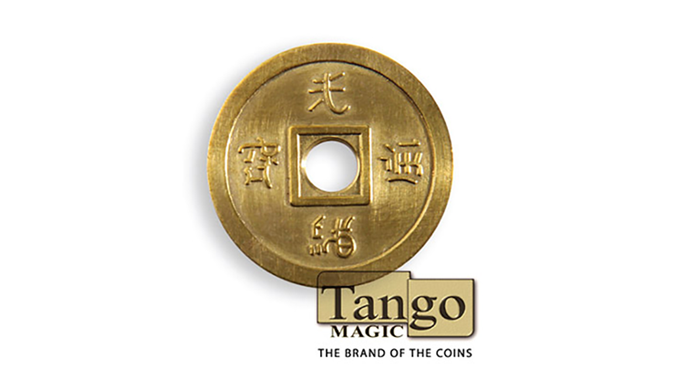 Dollar-Size-Chinese-Coin-Brass-by-Tango