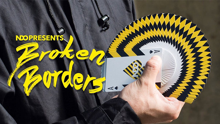 Broken Borders Playing Cards by The New Deck Order