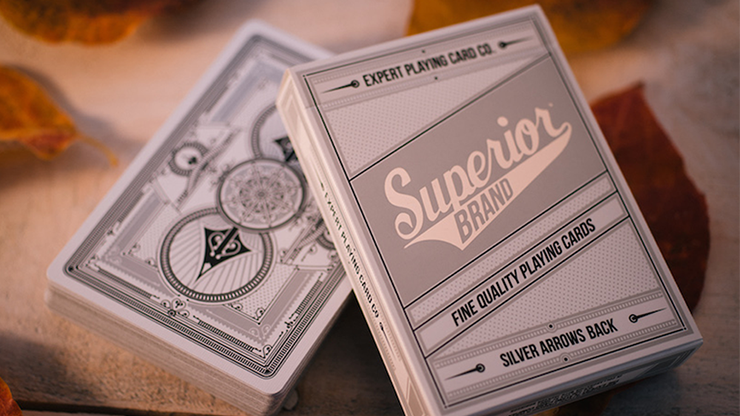 Superior-Silver-Arrow-Playing-Cards-by-Expert-Playing-Card-Co