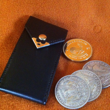 Coin Carrier - Leather