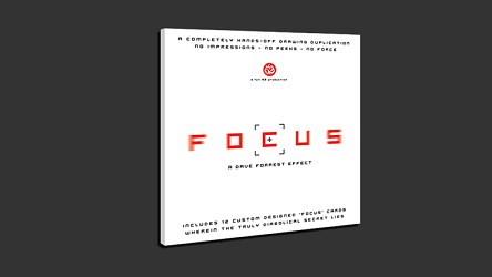 Focus (DVD and Gimmicks) by Full 52*