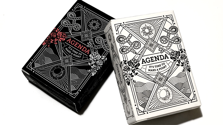 Mini Agenda Playing Cards (White)
