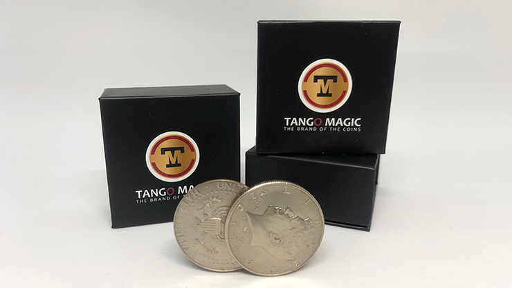 Triple TUC (D0190) Walking Liberty Silver Half Dollar Gimmicks and Online Instructions by Tango