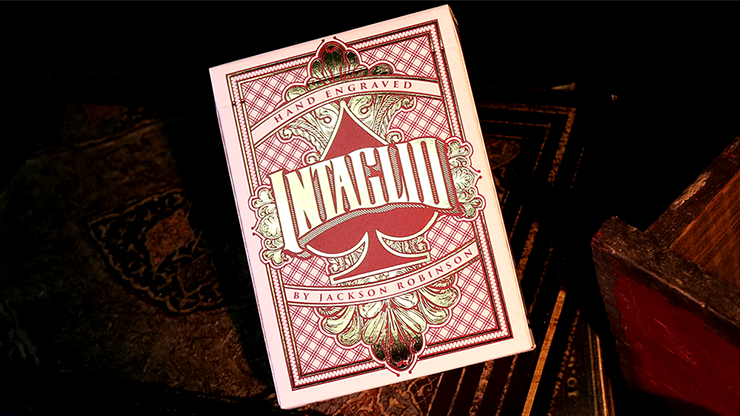 Intaglio Playing Cards by Jackson Robinson