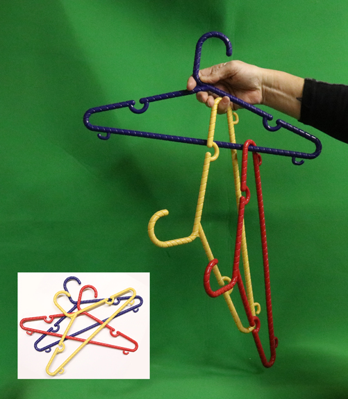 Color Linking Hangers - Multi Color