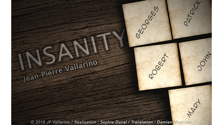 INSANITY by Jean-Pierre Vallarino