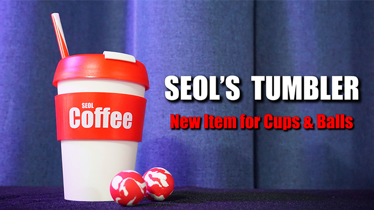 SEOLS-TUMBLER-Cup-&-Ball-With-StrawGimmick-and-Online-Instructions-by-Seol-Park