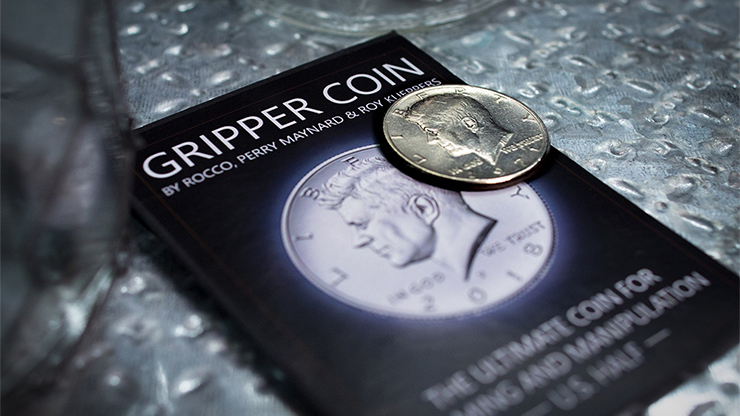 Gripper Coin (Single/U.S. 50) by Rocco Silano
