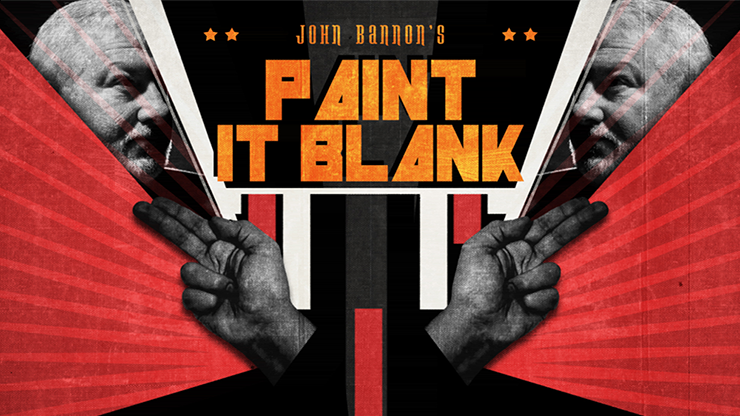 John Bannon`s PAINT IT BLANK