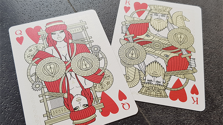 Odissea Minerva Playing Cards by Giovanni Meroni