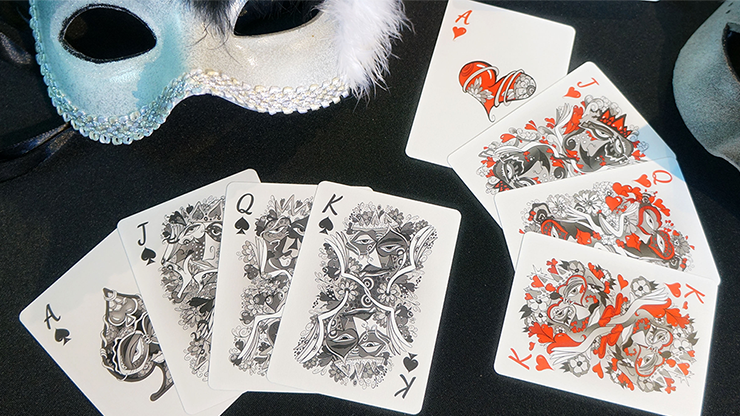 Masquerade:-Black-Box-Edition-Playing-Cards-by-Denyse-Klette