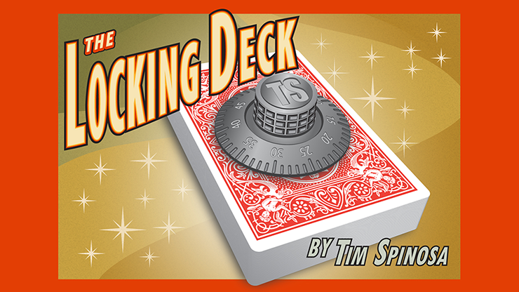 The Locking Deck (Blue) by Tim Spinosa*