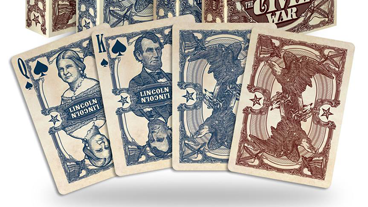 Bicycle Civil War Deck by US Playing Card Co