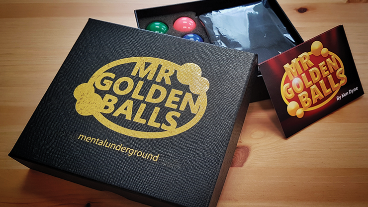 Mr Golden Balls 2.0 by Ken Dyne