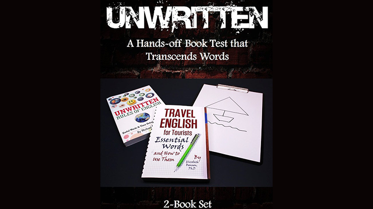 Unwritten: A Hands-off Book Test that Transcends Words (2-Book Set) by J C SUM*