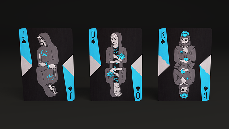 Mortamorx Limited Edition Playing Cards by Laszlo Pinter