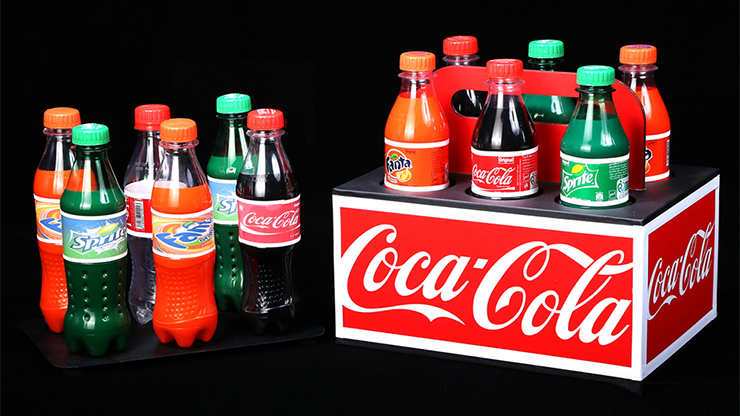 TRANSFER SODA BOTTLES by Tora Magic