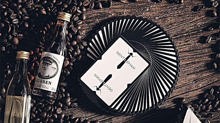 Limited Edition Gentleman Playing Cards by Bocopo