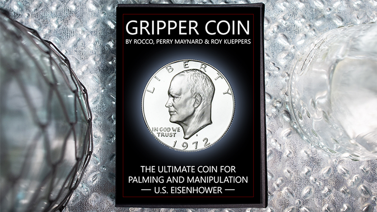Gripper-Coin-Single/-U.S.-Esienhower-by-Rocco-Silano