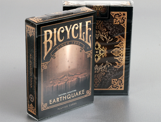 "Bicycle-Natural-Disasters-""Earthquake""-Playing-Cards-by-Collectable-Playing-Cards"