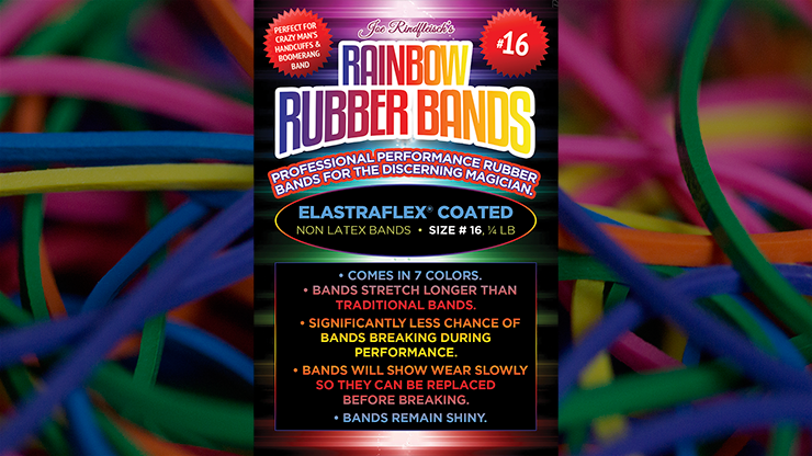 Joe Rindfleisch`s SIZE 16 Rubber Bands (Combo Pack)