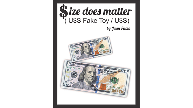 Size Does Matter USD by Juan Pablo Magic