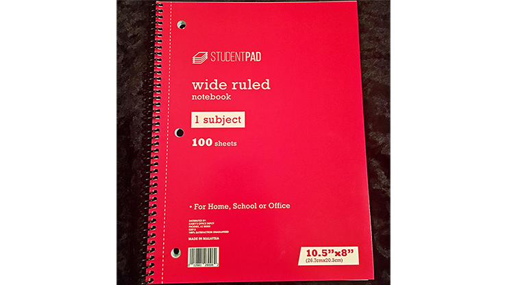 SvenPad KoD Stage Size USA Notebook (Single)*