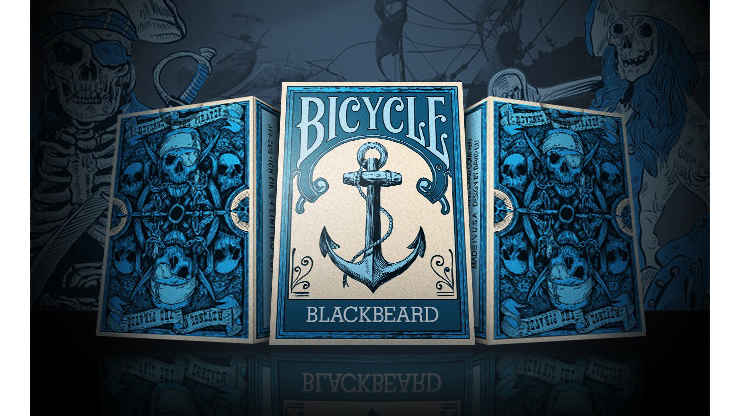 Bicycle Blackbeard Limited Edition Playing Cards